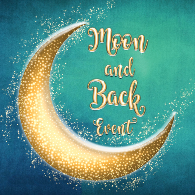 Moon and back logo