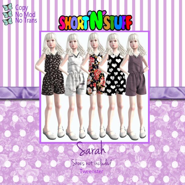 Sarah Tweenster ad