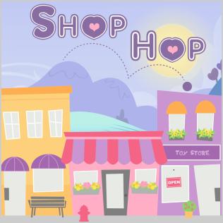 Shop Hop Logo