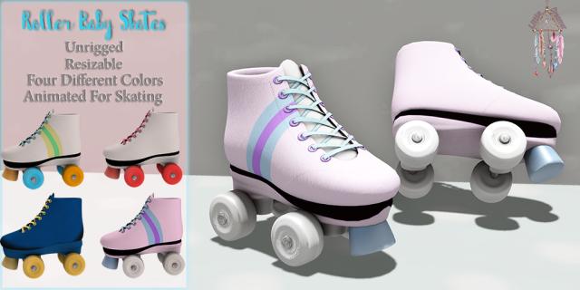 [LD] Roller Baby Skates AD