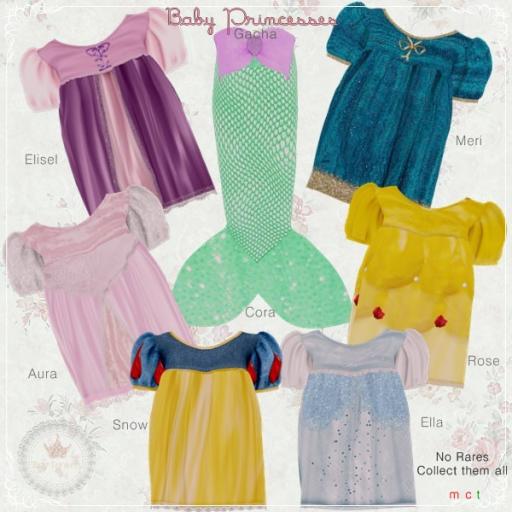 Baby Princesses Gacha Advert