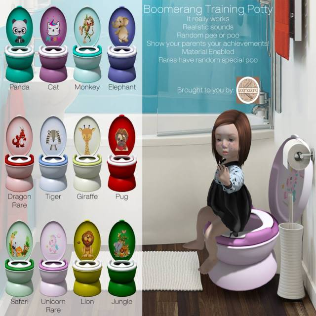 Boomerang Training Potty