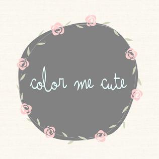 {Color Me Cute Event} Logo