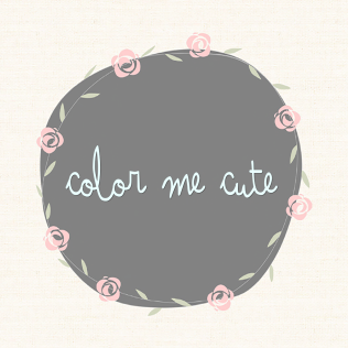 {Color Me Cute Event} Logo
