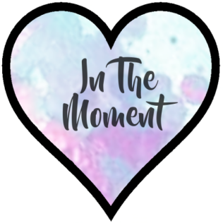 .In The Moment. ~ Logo ~ 8.2017 ~ {White}