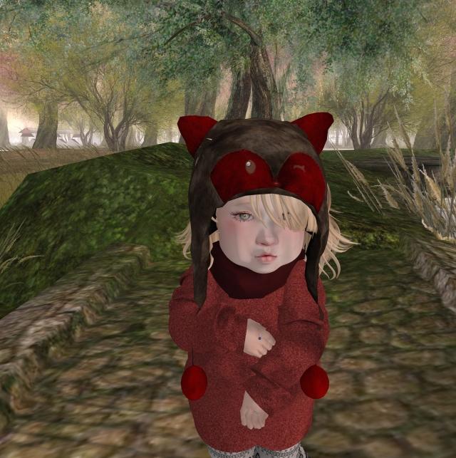 Tiny Trinket Fox Hat november round of Shop Hop_001