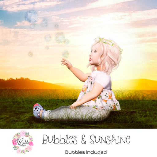 {BLISS} Bubbles and Sunshine Ad