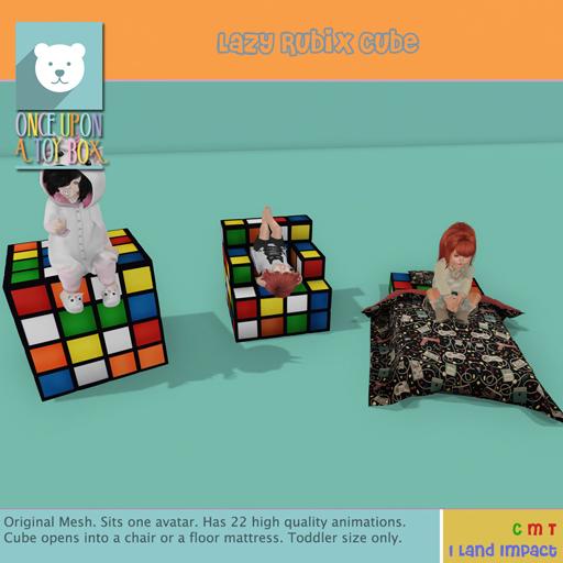 [OUATB] Lazy Rubix Cube Ad