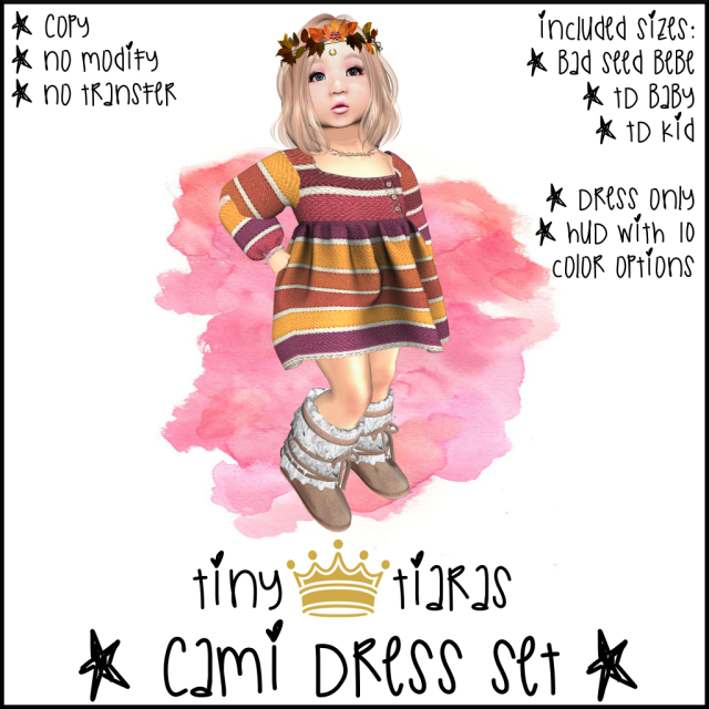 Tiny Tiaras Cami Dress AD