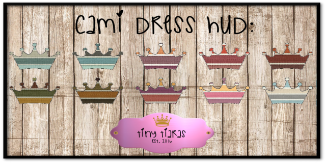 Tiny Tiaras Cami Dress HUD