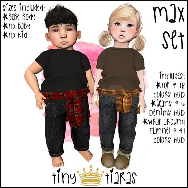 Tiny Tiaras Max Set AD