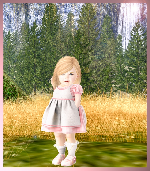 Annabelle dress and shoes Blog picture