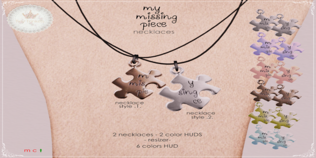 my missing piece necklace