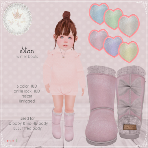 Star winter boots